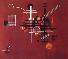 Wassily Kandinsky. Dull Red,