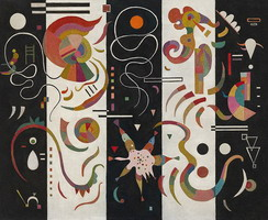 Striped (1934) by Wassily Kandinsky