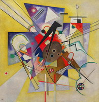 Yellow Accompaniment (1924) by Wassily Kandinsky