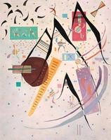 Black Points (1937) by Wassily Kandinsky