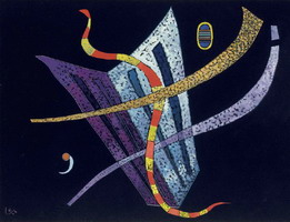 The opening (1938) by Wassily Kandinsky