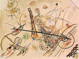 Non-objective (1917) by Wassily Kandinsky
