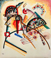 Wassily Kandinsky. Composition (red,yellow,black),