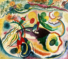 On the Theme of the Last Judgement (1913) by Wassily Kandinsky